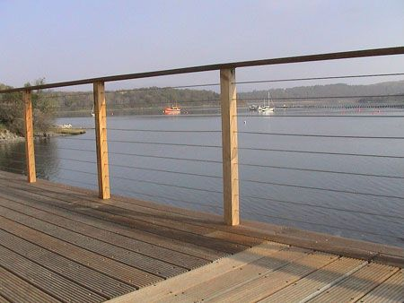 Stainless Steel Wire Cable Deck Railing See 100s of Deck Railing ...