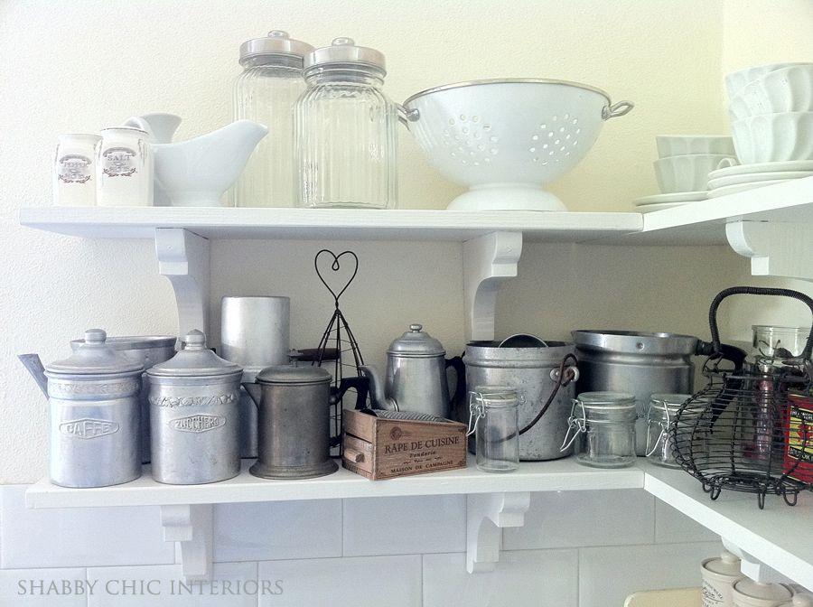 Shabby Chic Interiors: Dettagli in cucina