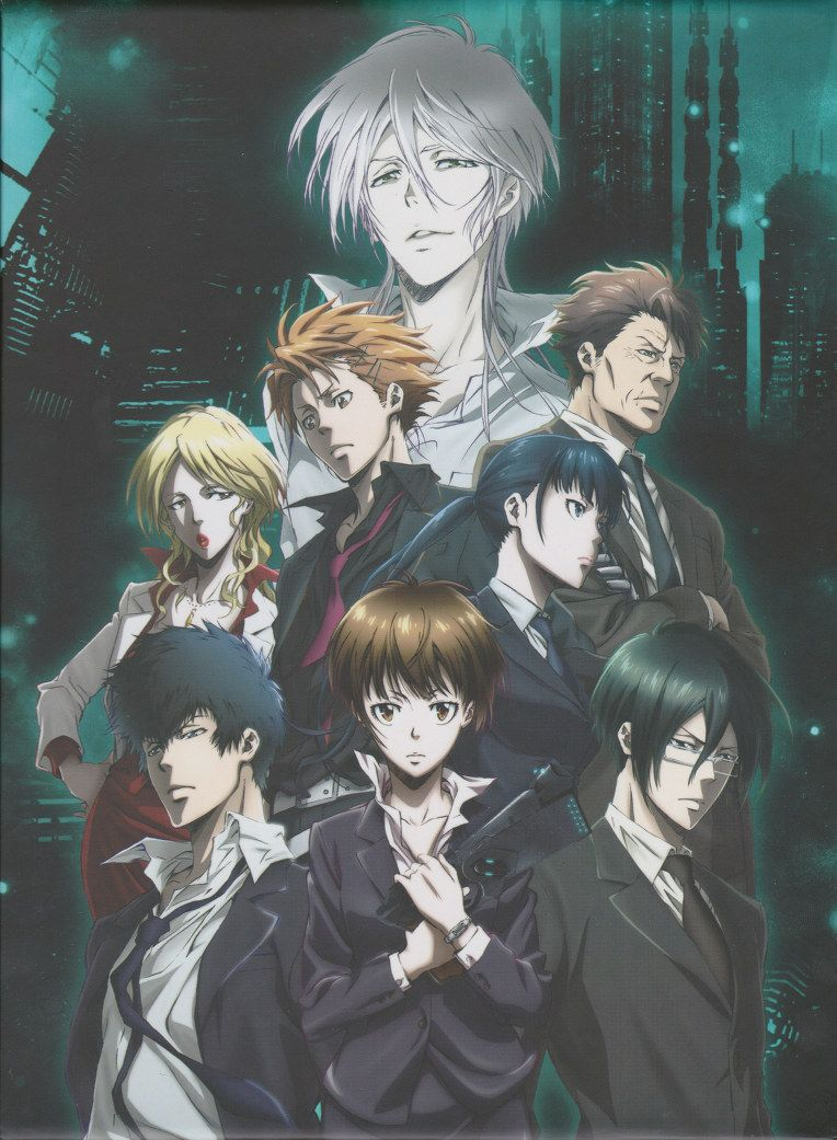 PSYCHO PASS 1 URGGHH I LOVE THEM ALL Psycho pass