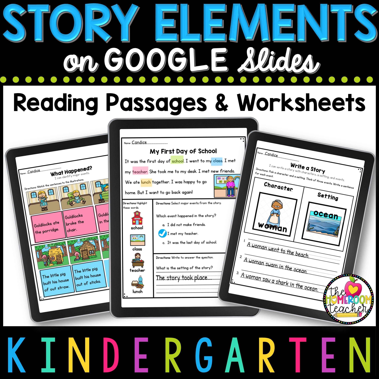 Pin On Digital Kindergarten Reading Worksheets