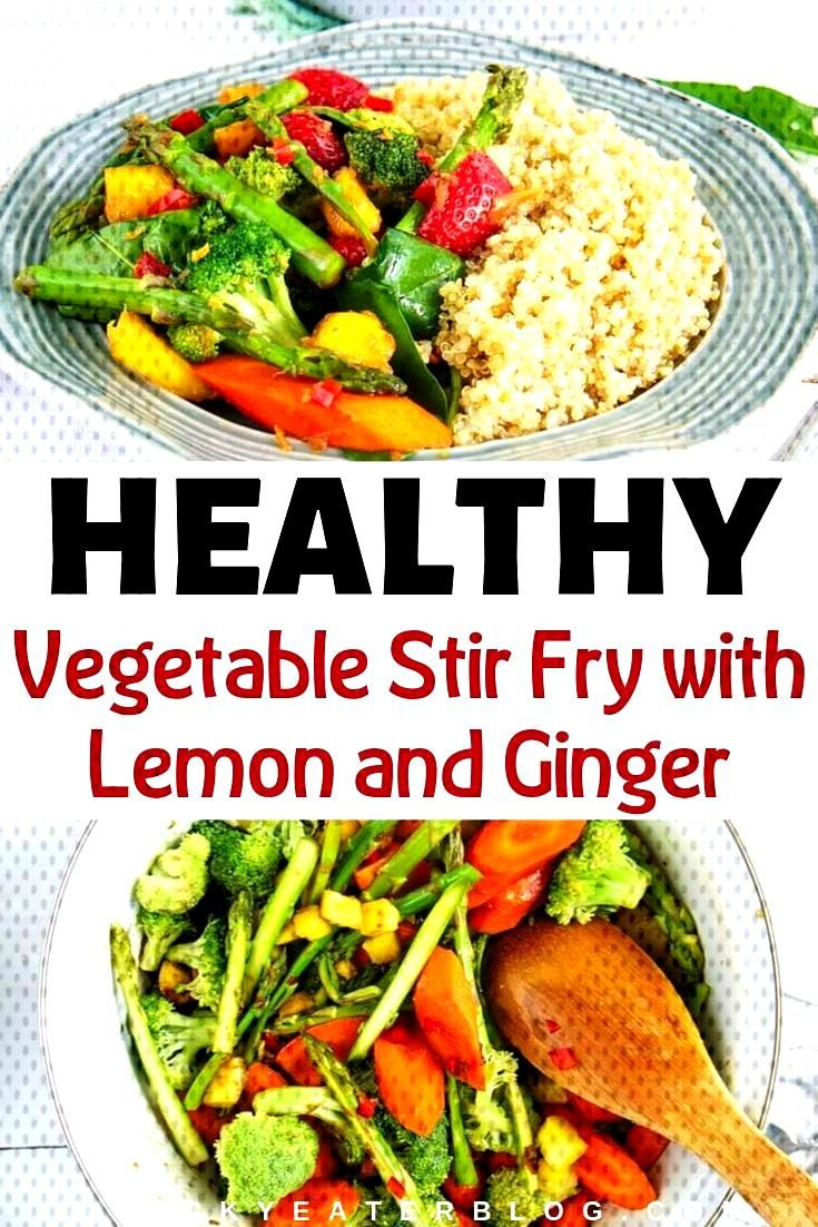 Vegetable Stir Fry Sauce with Lemon and Ginger - The Picky Eater - This healthy vegetable stir fry