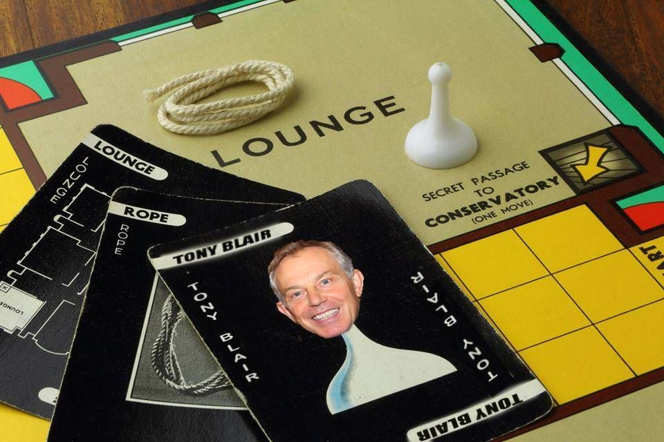 New Tony Blair character in Cluedo, cannot be accused -- Exciting news for fans of the classic board game Cluedo as a new character is to be introduced!That character is no other than former UK Prime Minister, Tony Blair. Players will be able to play as the former leader, invading the various rooms, searching for the murder weapon of mass destruction... --  -- http://rochdaleherald.co.uk/2017/08/01/new-tony-blair-character-in-cluedo-cannot-be-accused/