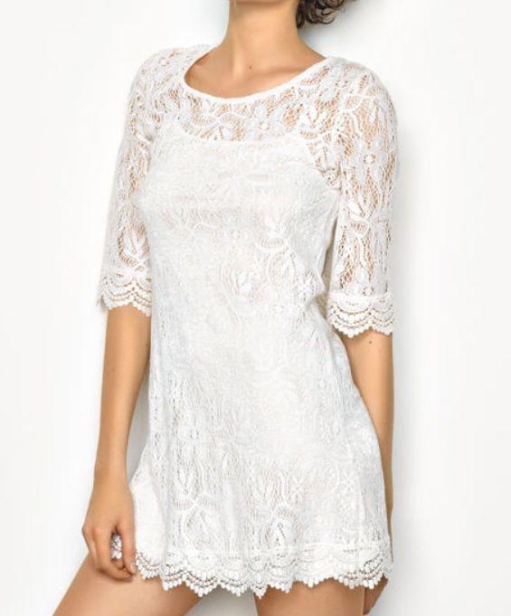 Petite robe blanche