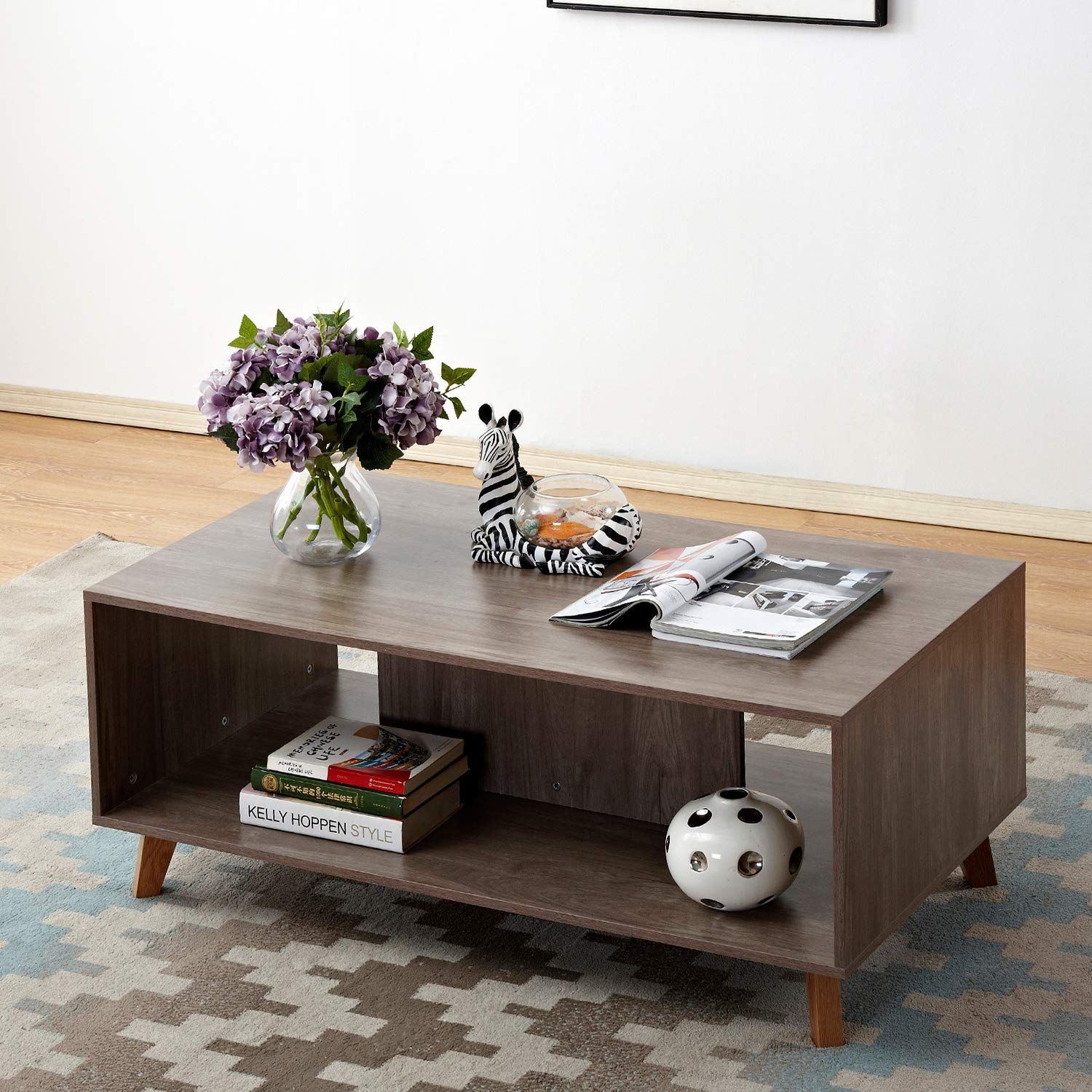 Soges 47 Coffee Table Console Table Tv Stand Living Room Entertainment Center Media Sto Living Room Entertainment Center Coffee Table Living Room Entertainment [ 1500 x 1500 Pixel ]