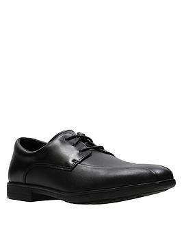 Youth Willis Lad Lace Up School Shoes