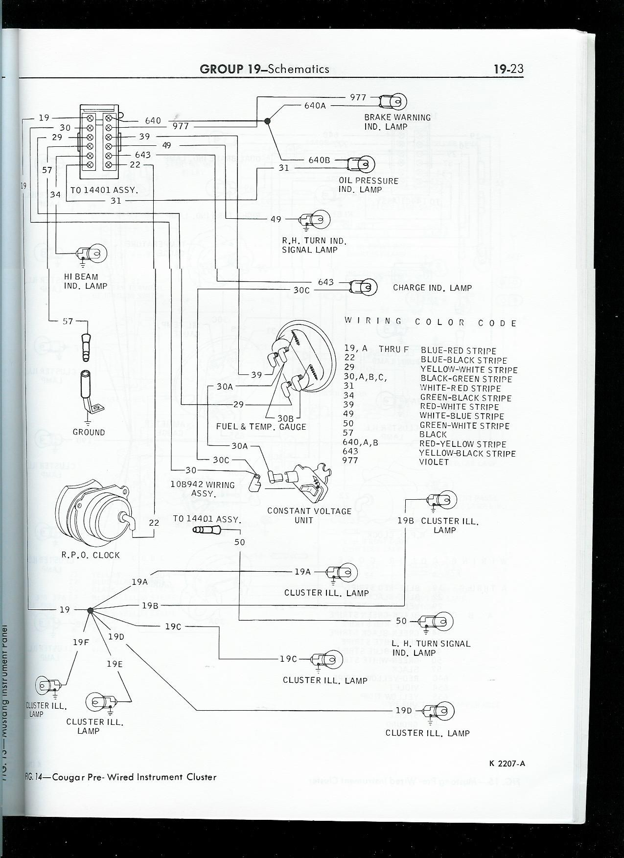 1967 mustang wiring to tachometer click image for larger 1999 ford f 150 tachometer wiring diagram Tach Wiring Diagram