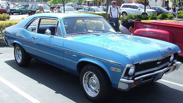 Ten Classic Cars For Under 5 000 Classic Cars Chevrolet Nova