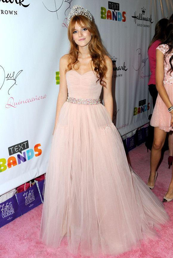 Bella Thorne 15th Birthday Bella Thorne Wearing A Pink Princess