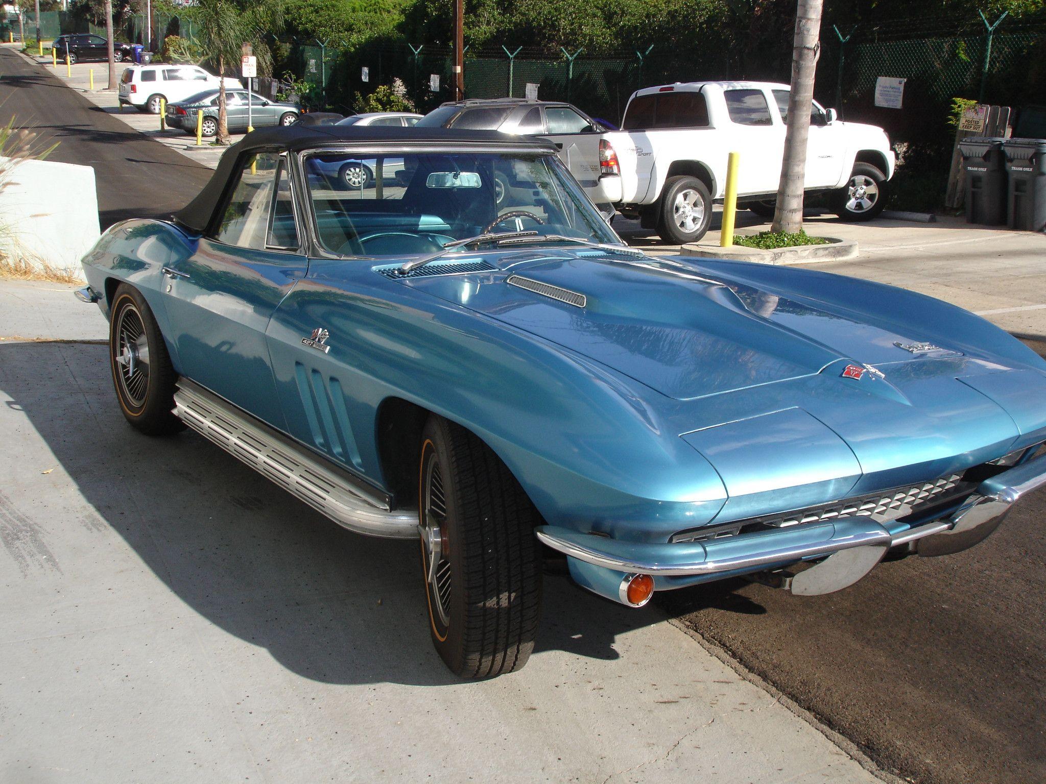 1966 Chevrolet Corvette 427 390 Convertible 4 Speed Chevrolet Corvette Corvette Chevrolet