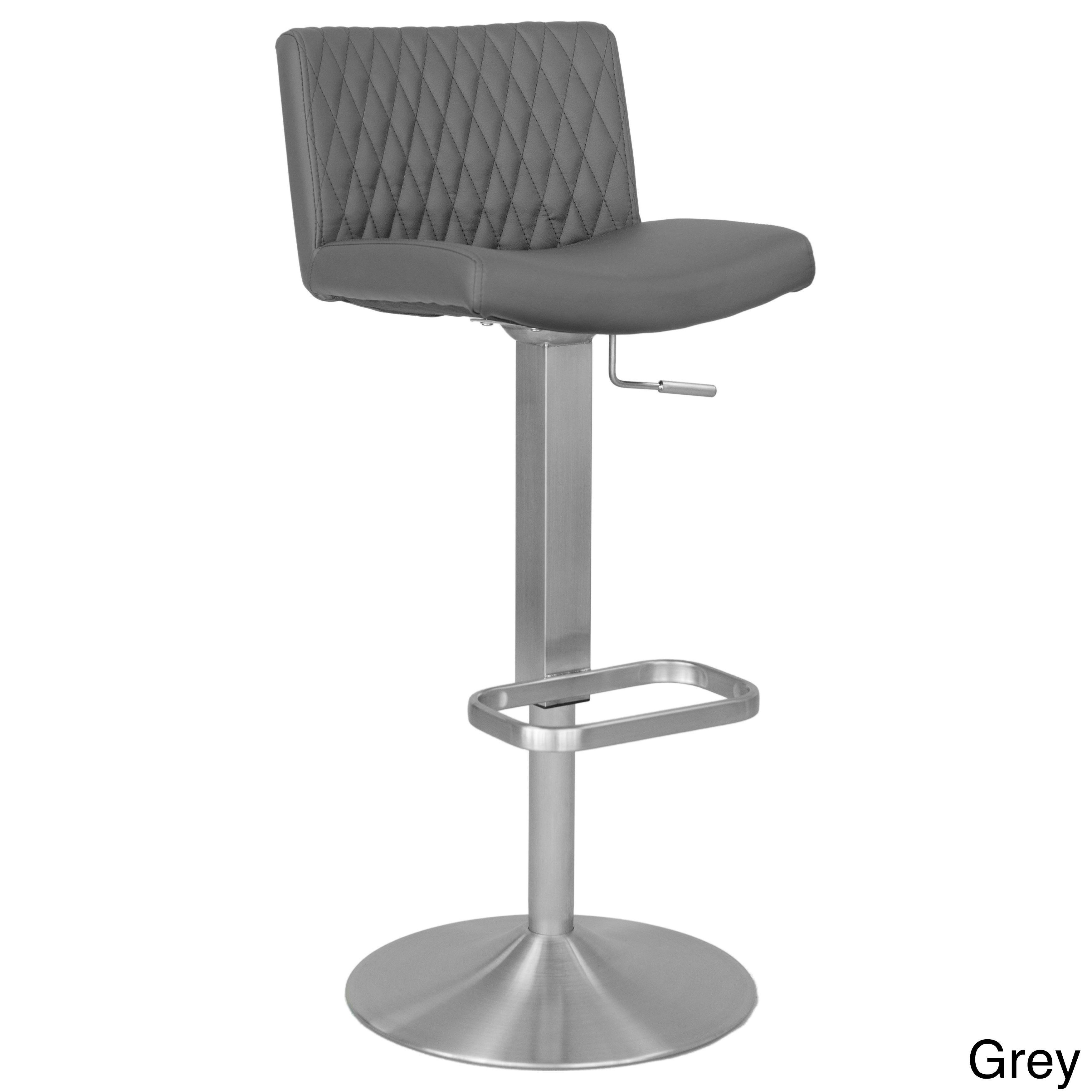 Stupendous Matrix Diamond Patterned Back Brushed Stainless Steel Ibusinesslaw Wood Chair Design Ideas Ibusinesslaworg