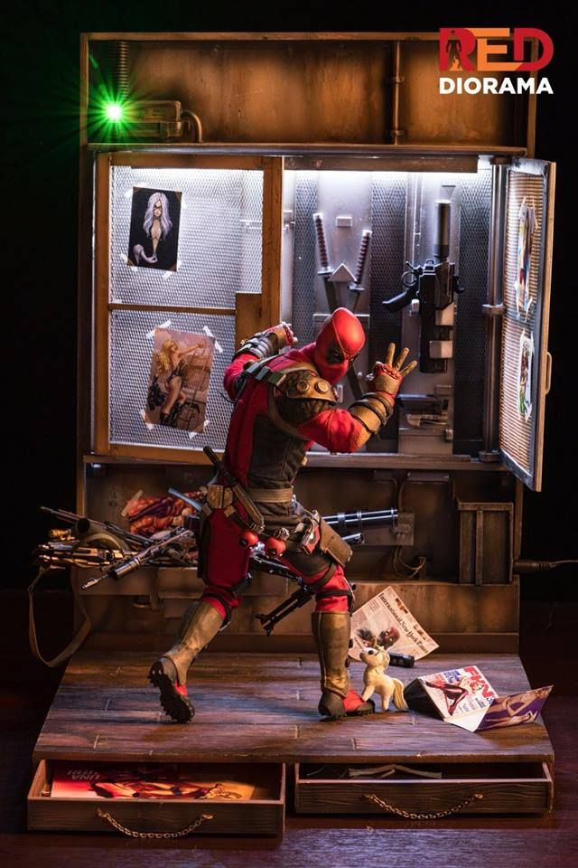 Deadpool Diorama Hot Toys Dioramas Pinterest