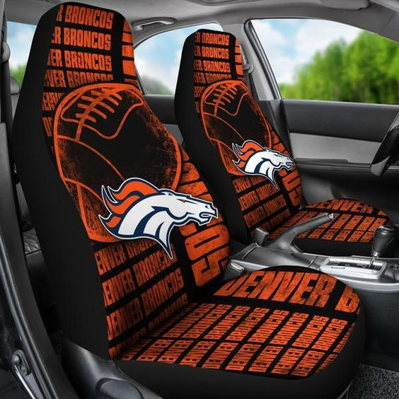 The Victory Denver Broncos Car Seat Covers Production Time 5 7 Days Est Delivery Usa 10 25 Worldwide 20 40 Business Depending On