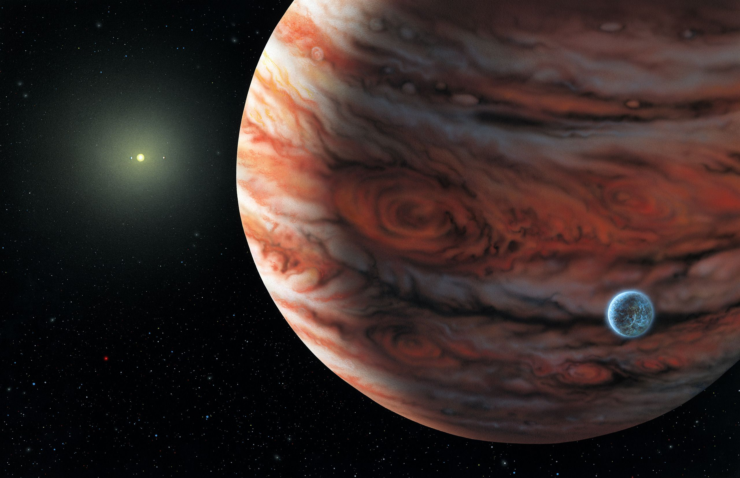 Jupiter planet - space Photo