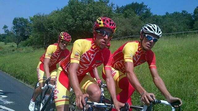 Olympic Spanish cycling selection by Inverse  d0f69e4036c6f
