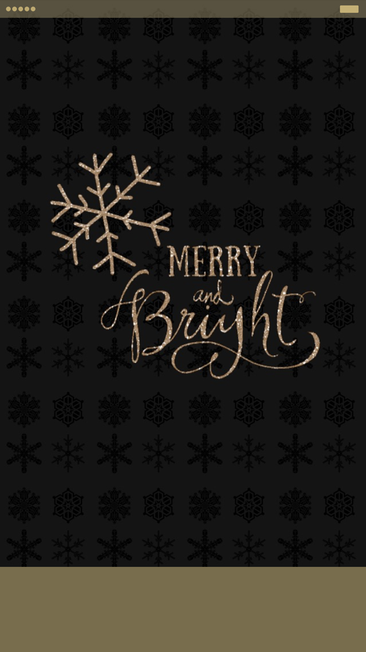 Tee Merry And Bright Iphone 6s Plus Homescreen