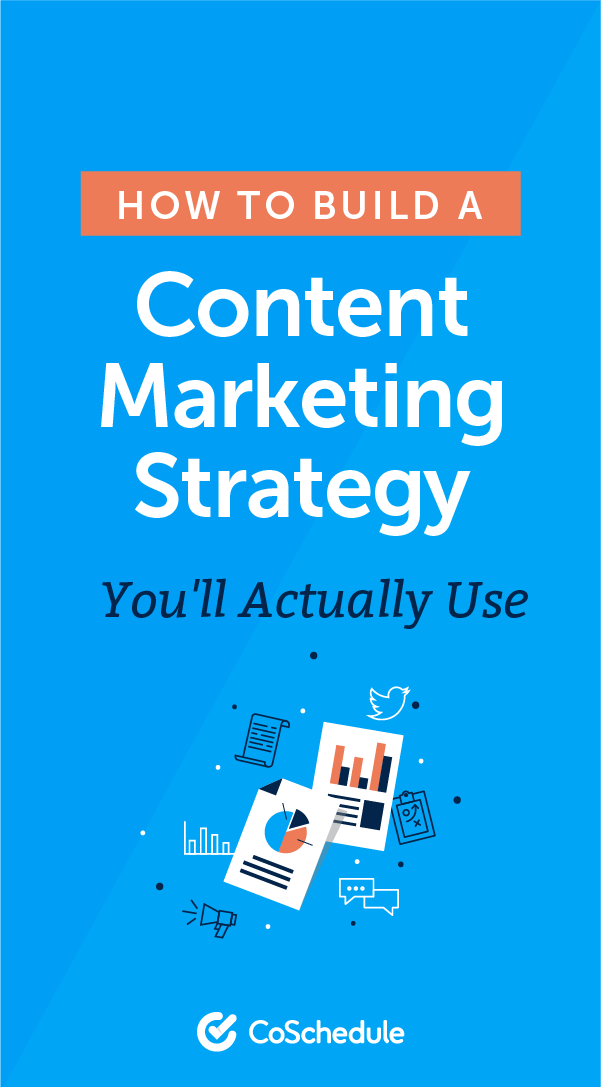 Content Marketing Strategy How To Build One YouLl Use Template