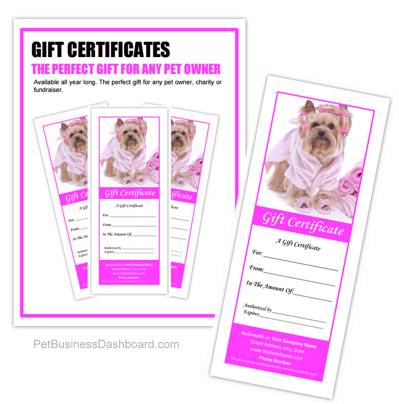 Dog Grooming Business Templates | Pets | Pinterest