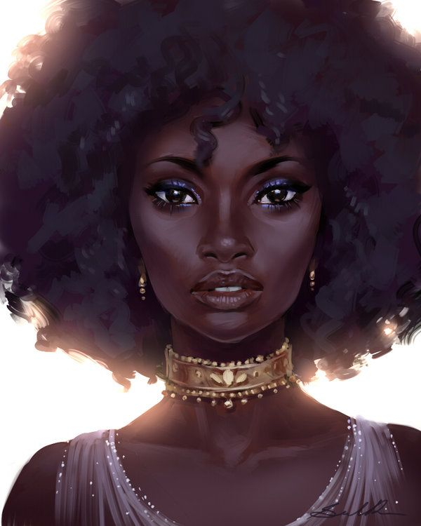 Black Beauty Speed Paint By Selenada Illustrations Et Dessins