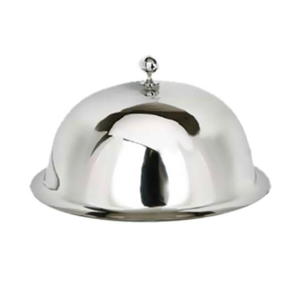 Service Plate Cover 12 Round Dome With Ornate Finial Stainless Steel More Sizes Available In 2020 Plate Covers Plates Cloche Domes