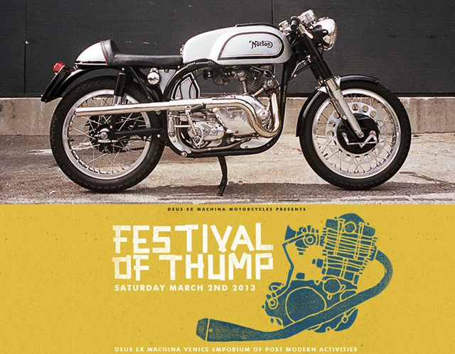 Festival of Thump Deus ex Machina ~ Return of the Cafe Racers