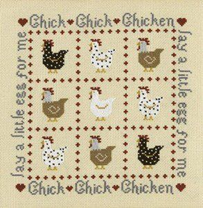 Chick Chick Chicken Counted Cross Stitch Kit Historical Sampler,http://www.amazon.com/dp/B00AQGJ0P4/ref=cm_sw_r_pi_dp_TreYsb1JRTMXV6CG