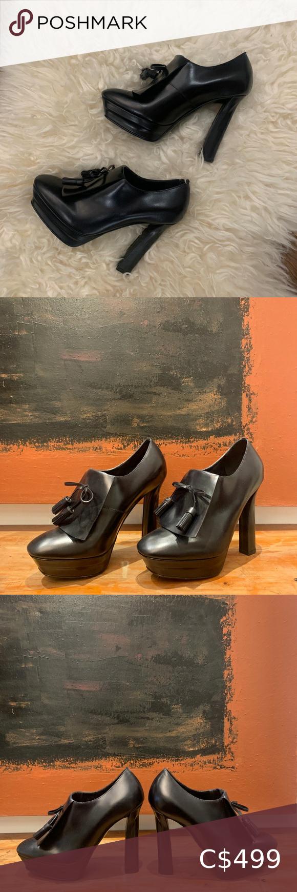 Bottega Veneta Leather Pre-owned Scarpa Pelle S.gomma