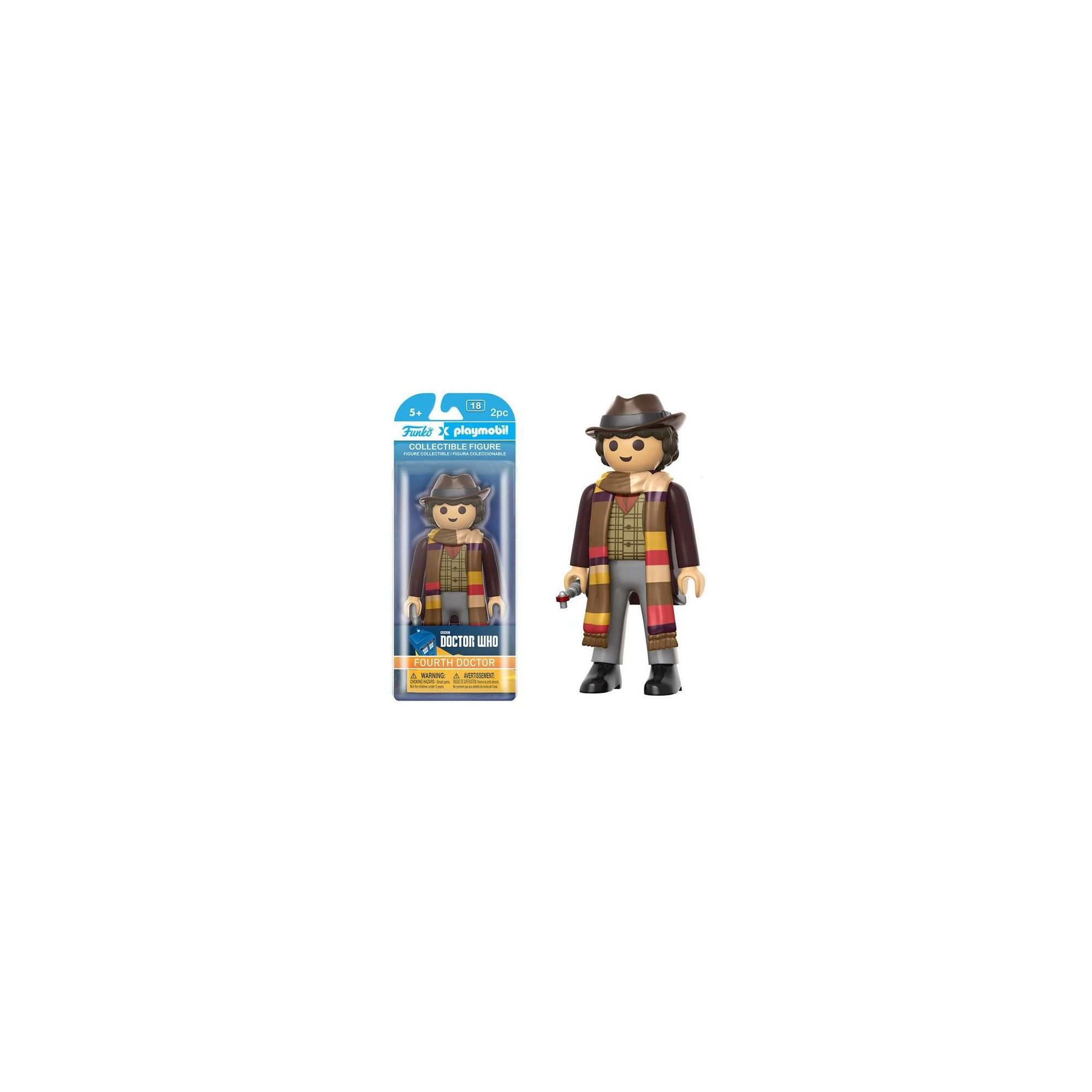 Funko Playmobil Doctor Who 4th Doctor