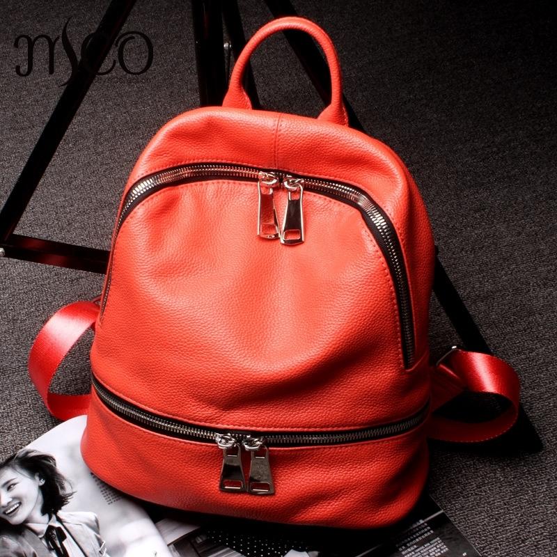 (94.99$)  Buy here  - Fashion Design School Bag Girl Luxury Brand Backpacks Soft Leather Genuine Leather Backpack Lovers Daypack Travel Shoulder Bag