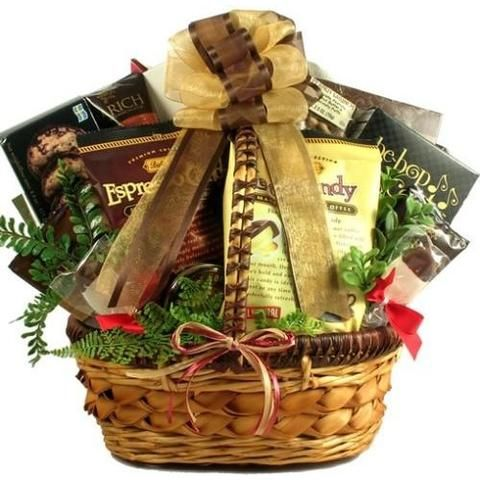 Coffee Break Deluxe Gift Basket Free Shipping