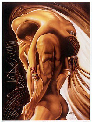 art Black erotic