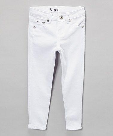 Neeso Jeans White Jeans - Toddler & Girls | White jeans, Toddler ...