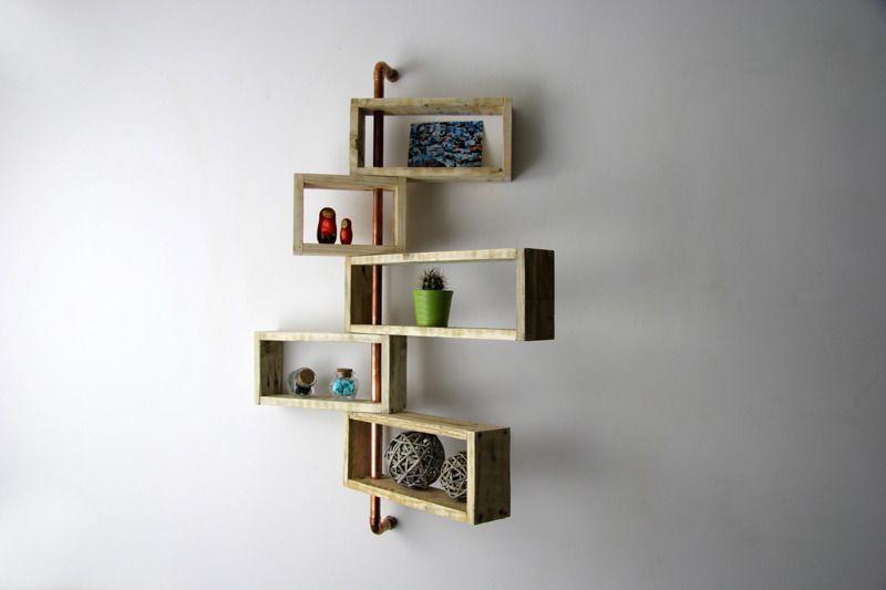 tag re d 39 angle murale nitya design en bois de palette. Black Bedroom Furniture Sets. Home Design Ideas