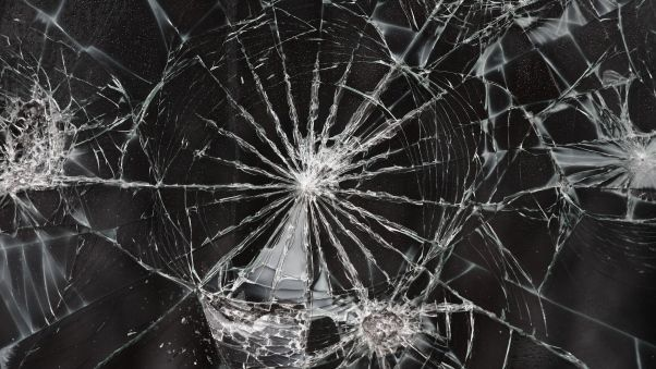 Wallpaper Cracks Texture Surface Broken Screen Wallpaper Broken Glass Wallpaper Smash Glass