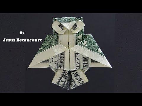 One Dollar Easy Origami Pyramid - YouTube   360x480
