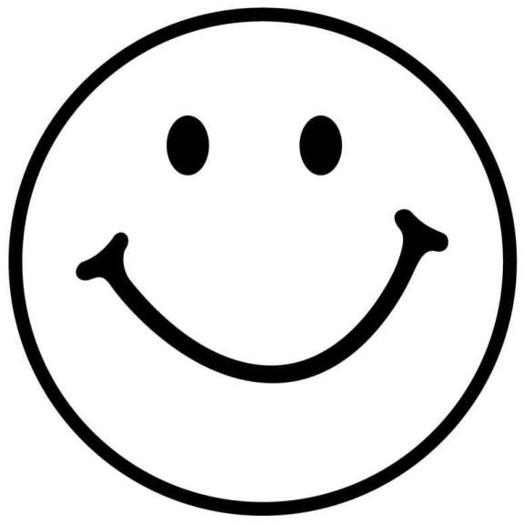 Blank Smiley-Face Coloring Pages | for kids | Pinterest ... |Finger Face Happy Coloring