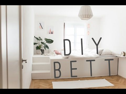 IKEA Hack Platform Bed DIY - YouTube | Einrichten und Wohnen ...