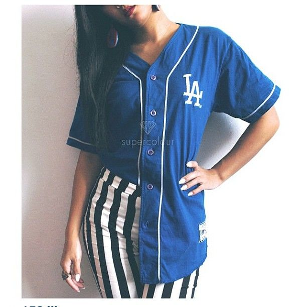 Vintage La Dodgers Baseball Jersey Available Now At Www Shopsupercolour Com Jersey Outfit Clothes Fashion