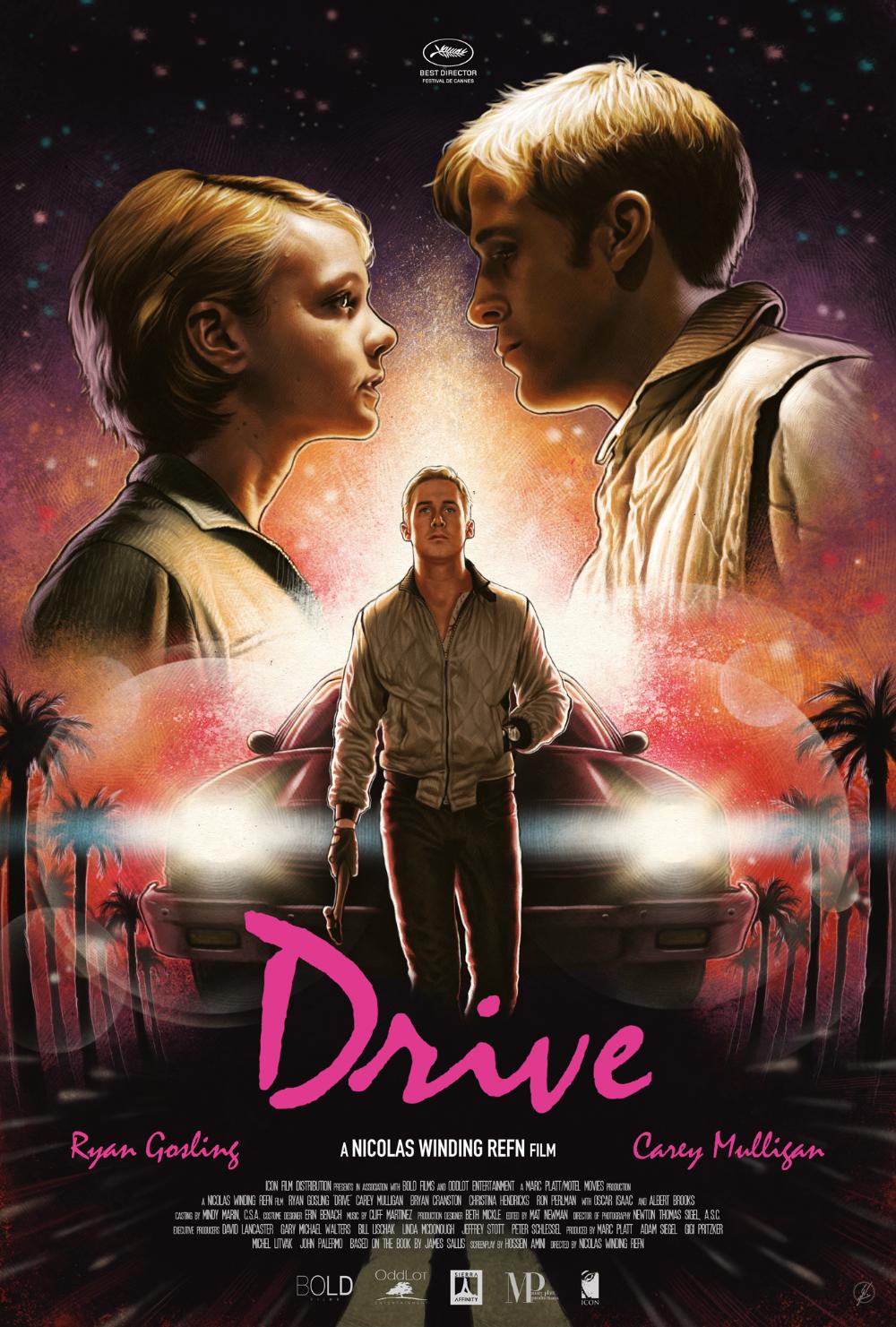 'Drive' Poster in 2020 Drive poster, Drive movie poster