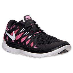 hot sale online 9b491 bfa3d Nike Free 5.0 2014 Womens Black Metallic Silver Pink Glow 644446 001  cheap   nike  frees