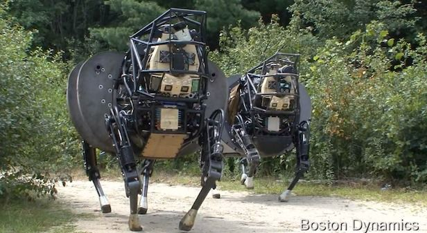 #DARPA Is Back With A New And Improved #Robot Mule!