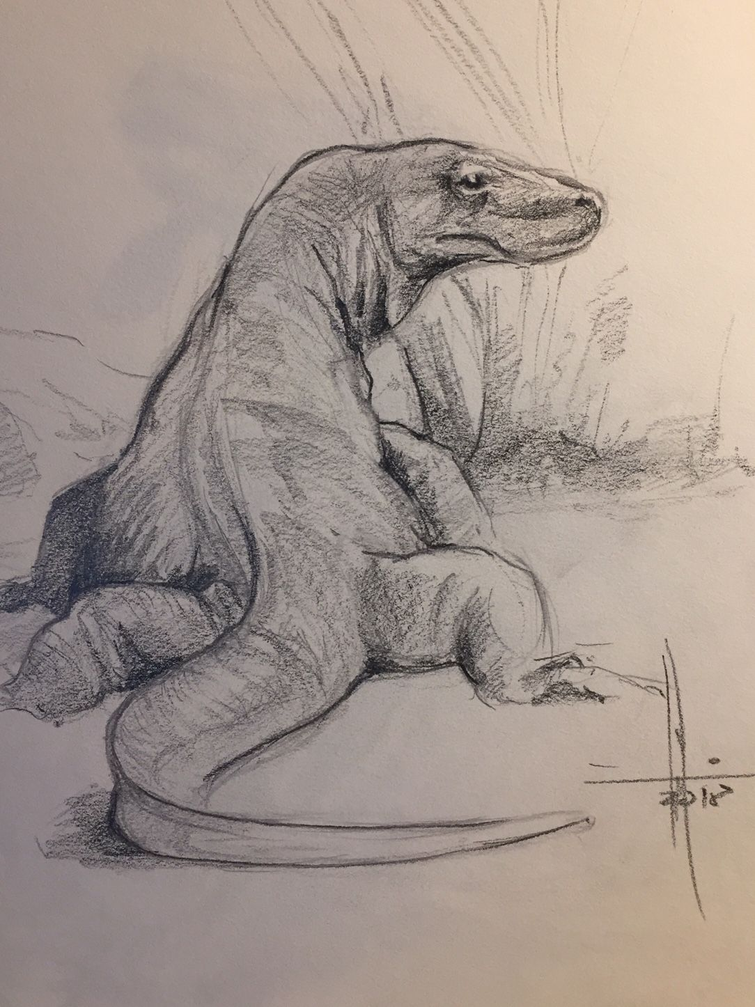 Dibujo Dragon Komodo A Lapiz Francisco Javier Abellan Komodo Dragon Dragon Sketch Animals Artwork