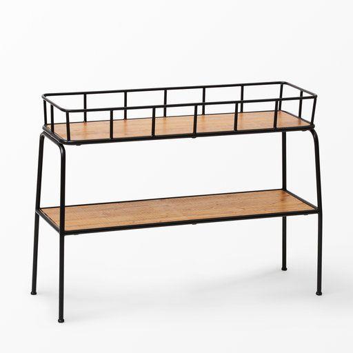 Blombänk Vega, 96×70 cm, brun Möbler, Shoppa och Inredning