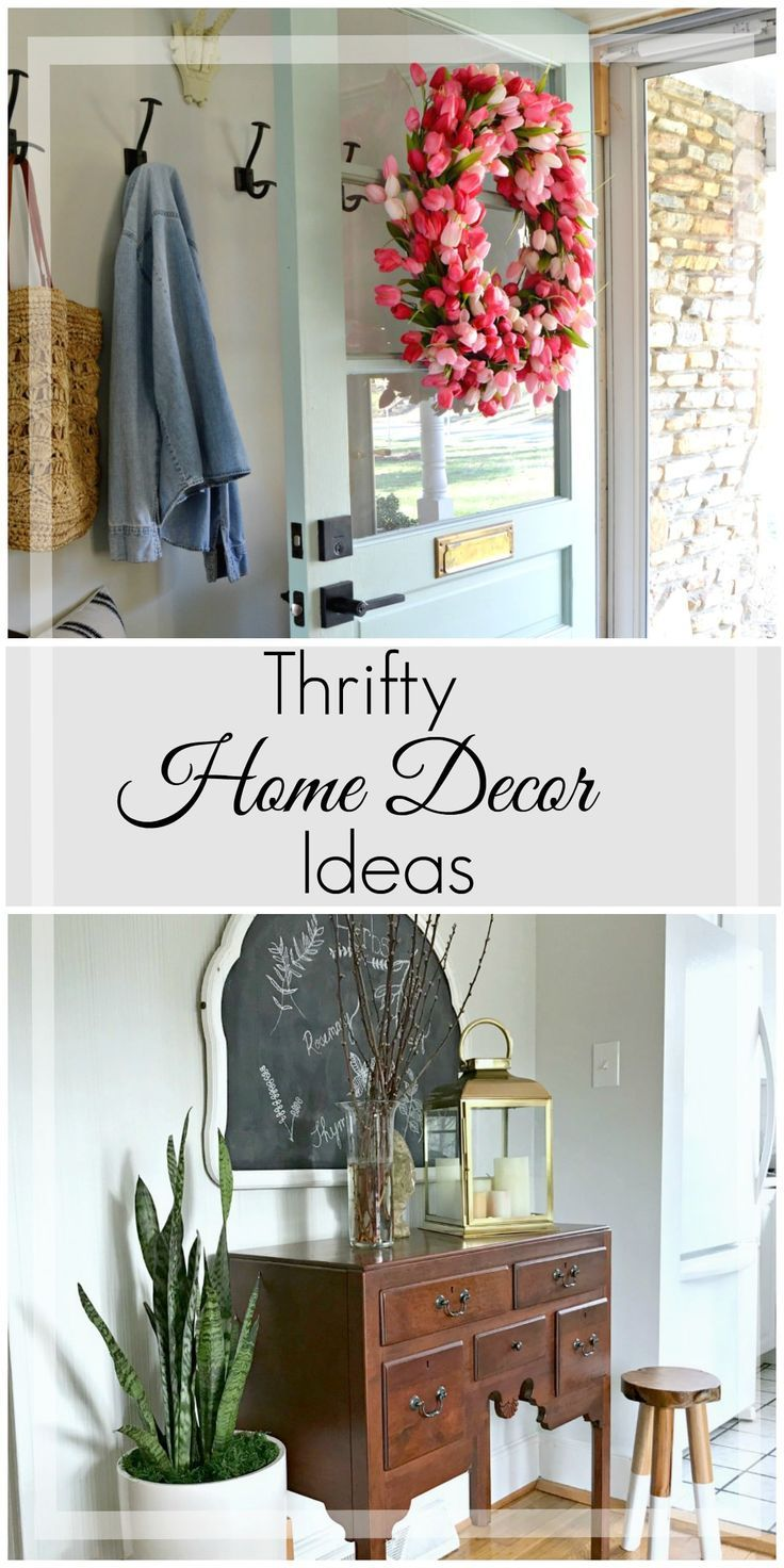 Thrifty Home Ideas Our top 5 thrifty decor projects thrifty decor chalkboards and stools workwithnaturefo