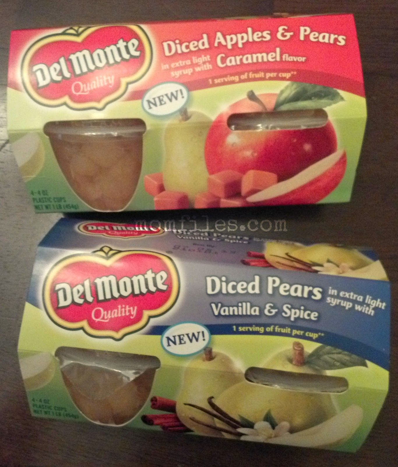 MOMFILES.com: Del Monte Fruit Cups for back-to-school {Giveaway}