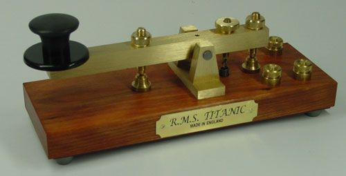 KENT Morse Telegraph Keys (Titanic reproduction) | Telegraph