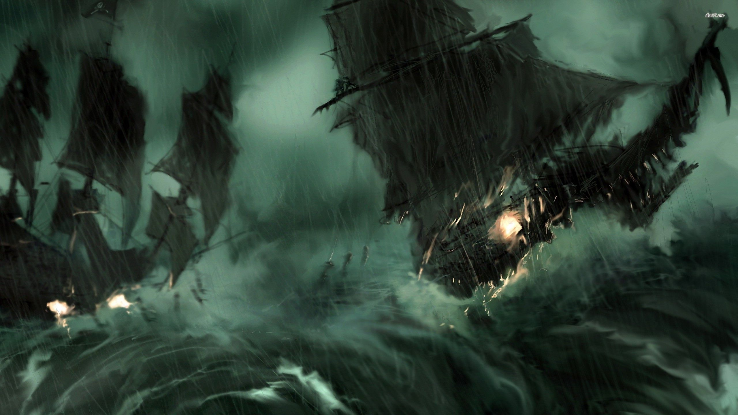 Medieval Ship Entering The Island X Fantasy Wallpaper Ghost Ship Storm Wallpaper Pirate Pictures