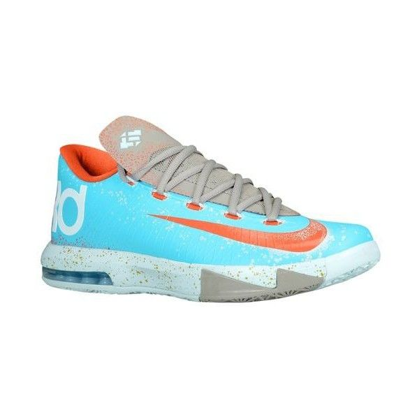 Nike KD VI Boys' Grade School ❤ liked on Polyvore featuring shoes, kd, sneakers, kds and nike