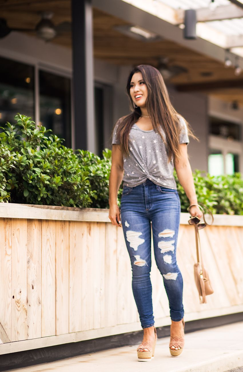 Jeans And T Shirt Spring Outfits Casual Jeans Outfit Summer