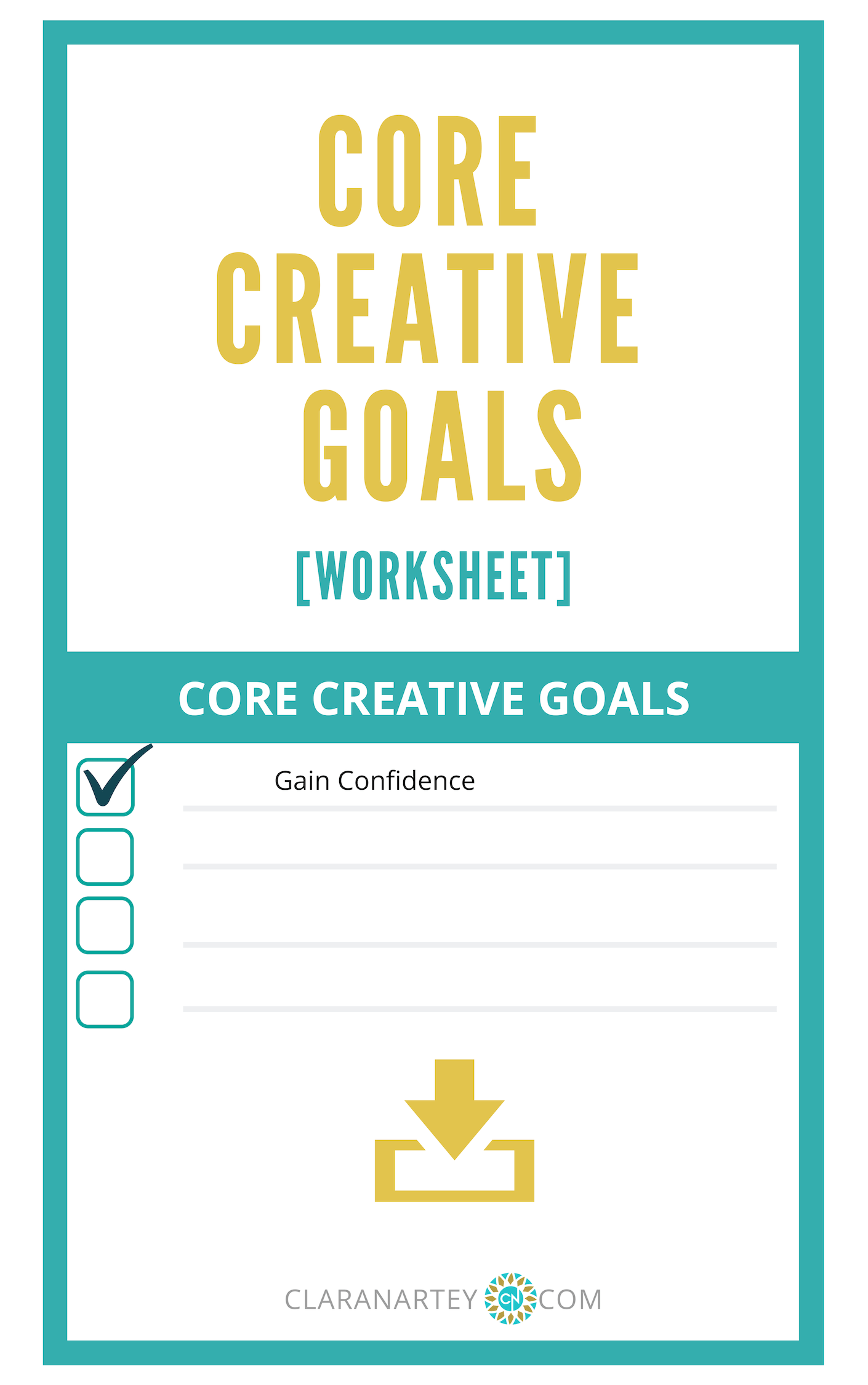 Core Creative Goals