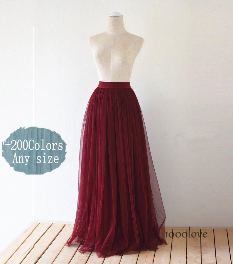Floor length adult tulle skirtfull length women wedding   Etsy